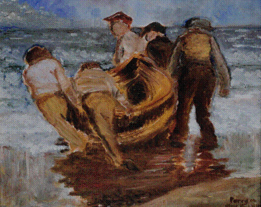 Boatmen (after Henry)
