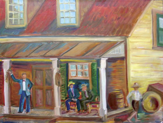 Corner of Wootton Store
