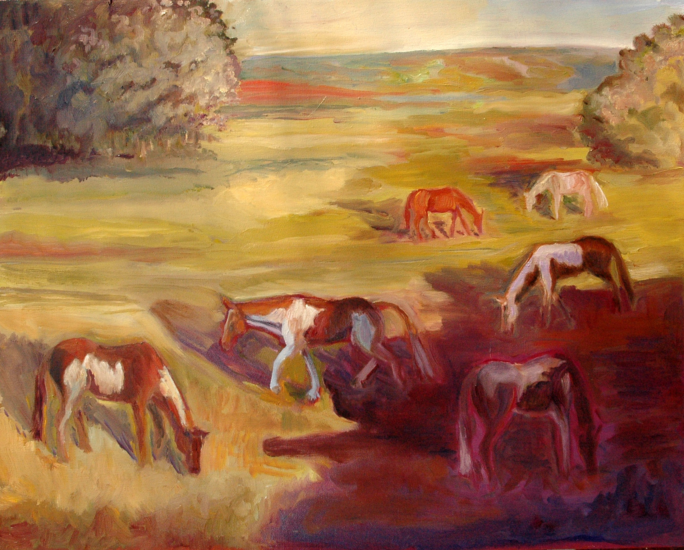Painted Horses, Painted Shadows